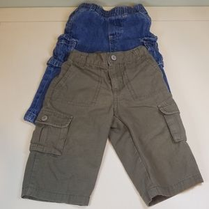 Boys 12 month pants 2 piece lot